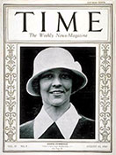 Edith Cummings on the cover of Time magazine